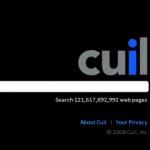 cuil screenshot 1