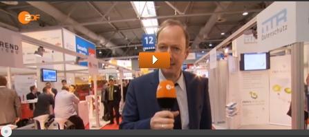 Reporter Martin Sonneborn auf der CeBIT