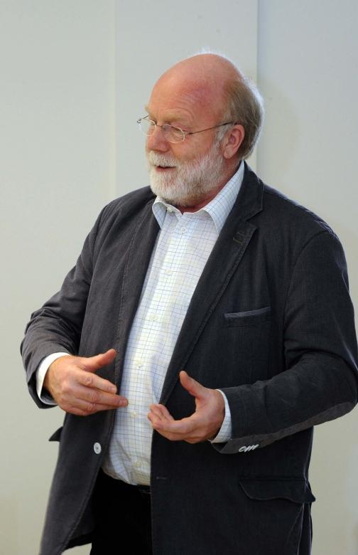 Reinhard Dankert sieht seine Rolle primär als Kommunikator.