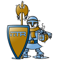 IITR Ritter mit einem Schal und einem Heißgetränk in der Hand