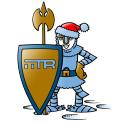 IITR Ritter mit Nikolausmütze