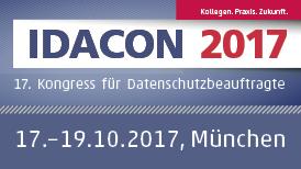 Banner: 17. Kongress für Datenschutzbeauftragte