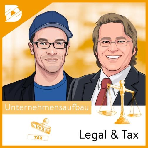 Karikatur von zwei Männern, darunter Joel Kaczmarek