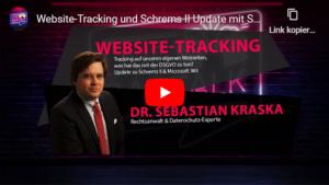 Datenschutz-Video: Website-Tracking