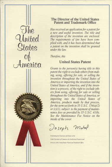 PATENT USA Thumb